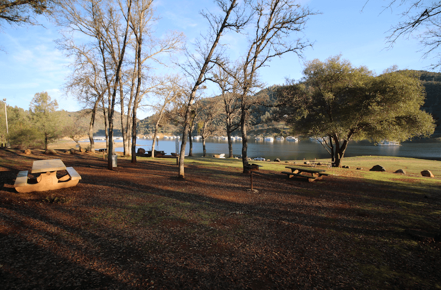 Don Pedro Lake Camping-Moccasin Point Day Use Area