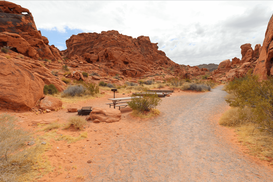 Updated Valley of Fire State Park Campsite Photos - Atlatl Rock Campsite 21