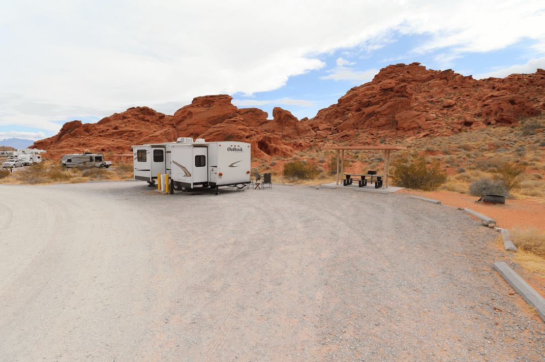 Updated Valley of Fire State Park Campsite Photos - Atlatl Rock Campsite 23