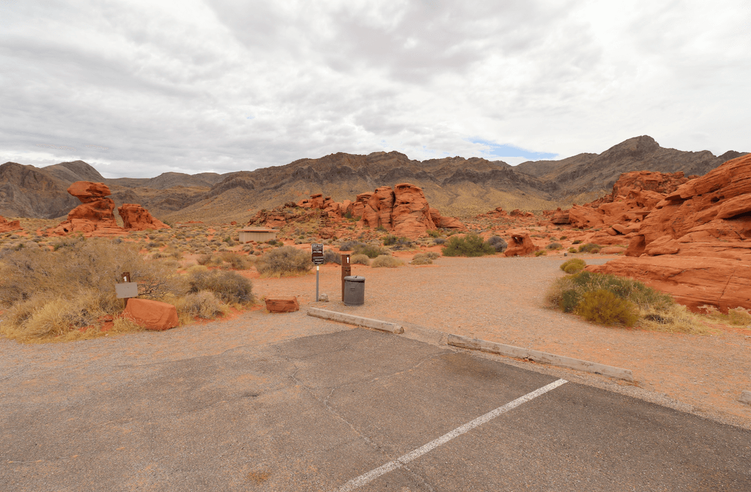 Updated Valley of Fire State Park Campsite Photos - Group Site