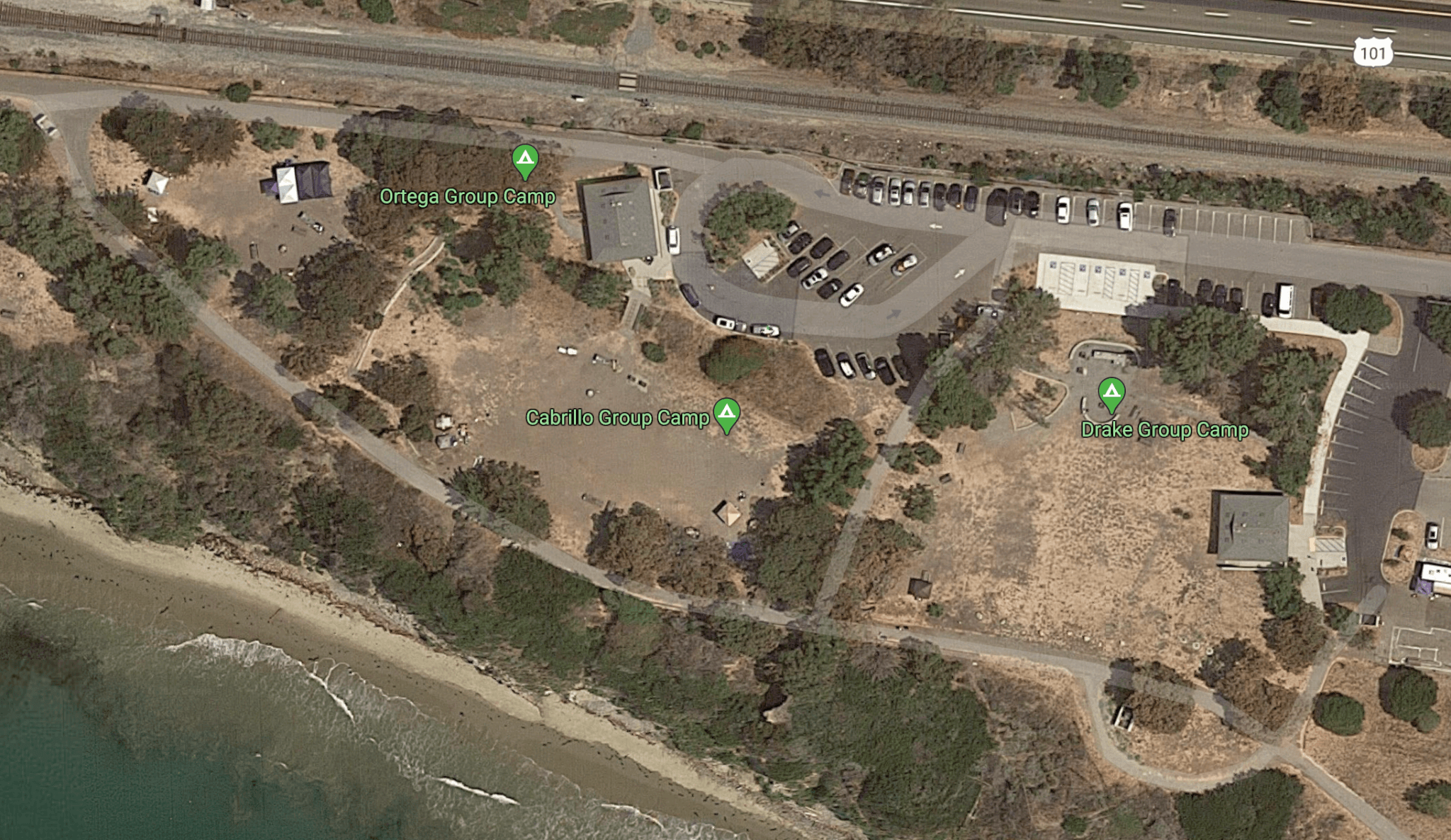 El Capitan State Beach Group Campsites