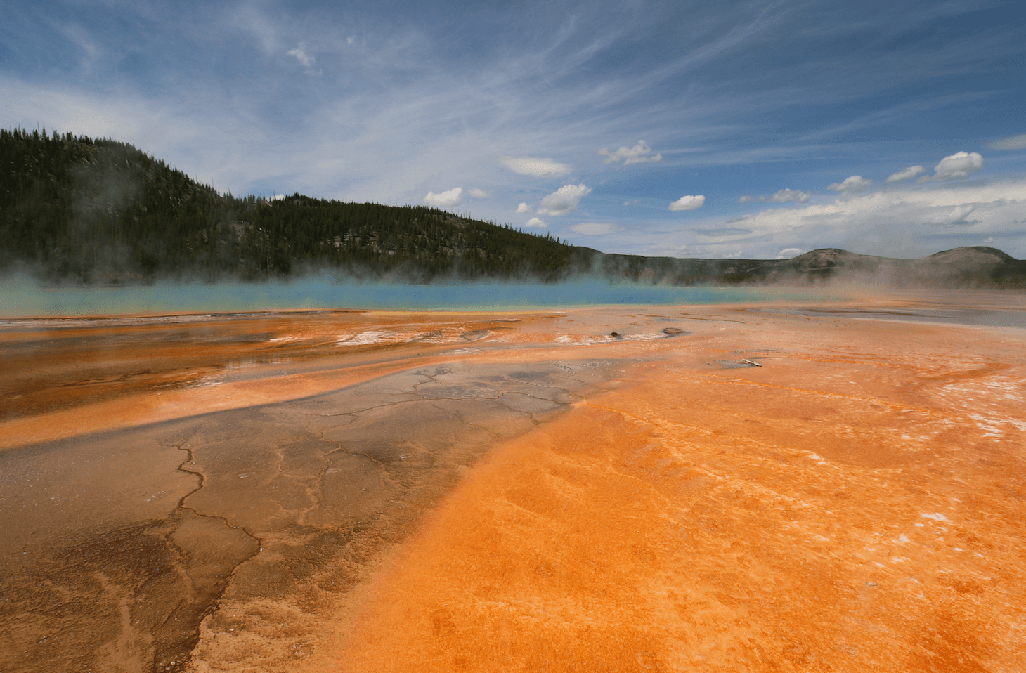 Camping Fever Camping Dreams - Grand Prismatic Spring - Yellowstone National Park