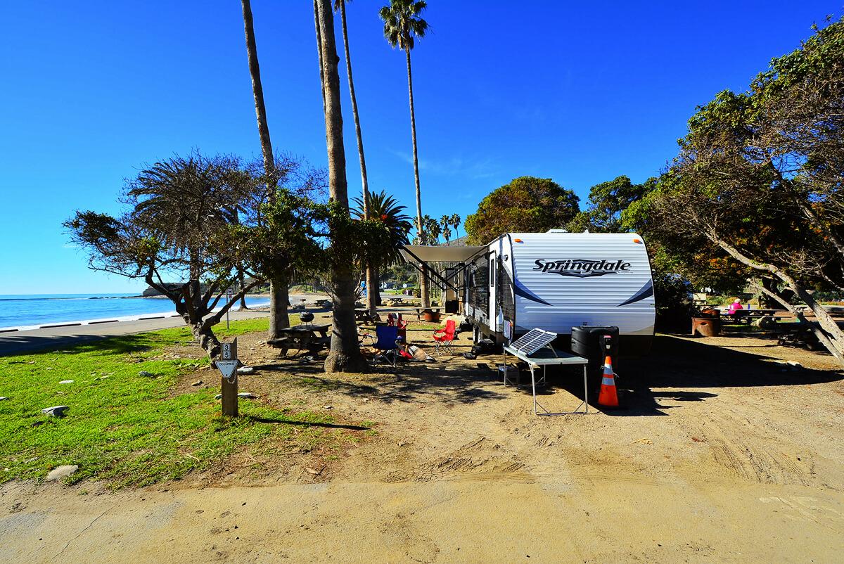 Camping Fever Camping Dreams - RefugioState Beach Site 35