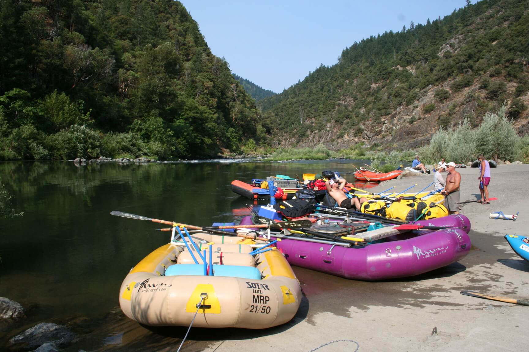 Camping Tips For River Rafting Trips-Rogue River Launch