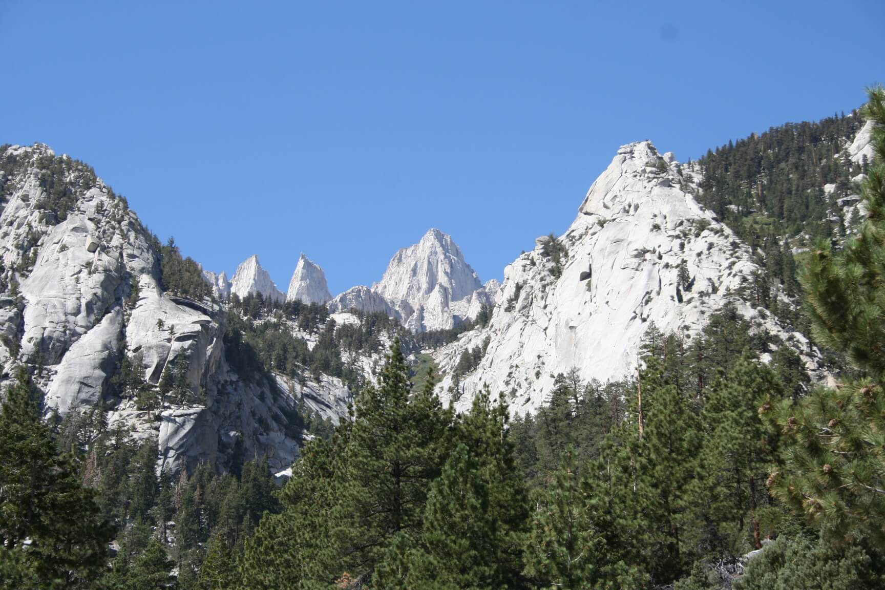 Inyo National Forest Campgrounds Closed - Mt. Whitney