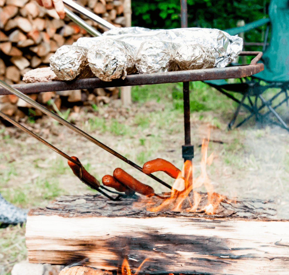 5 Clever Campsite Cooking Hacks - Tin Foil